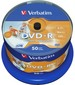 Компакт-диск Verbatim DVD-R Printable 16x 4.7GB/120min Саке(50)